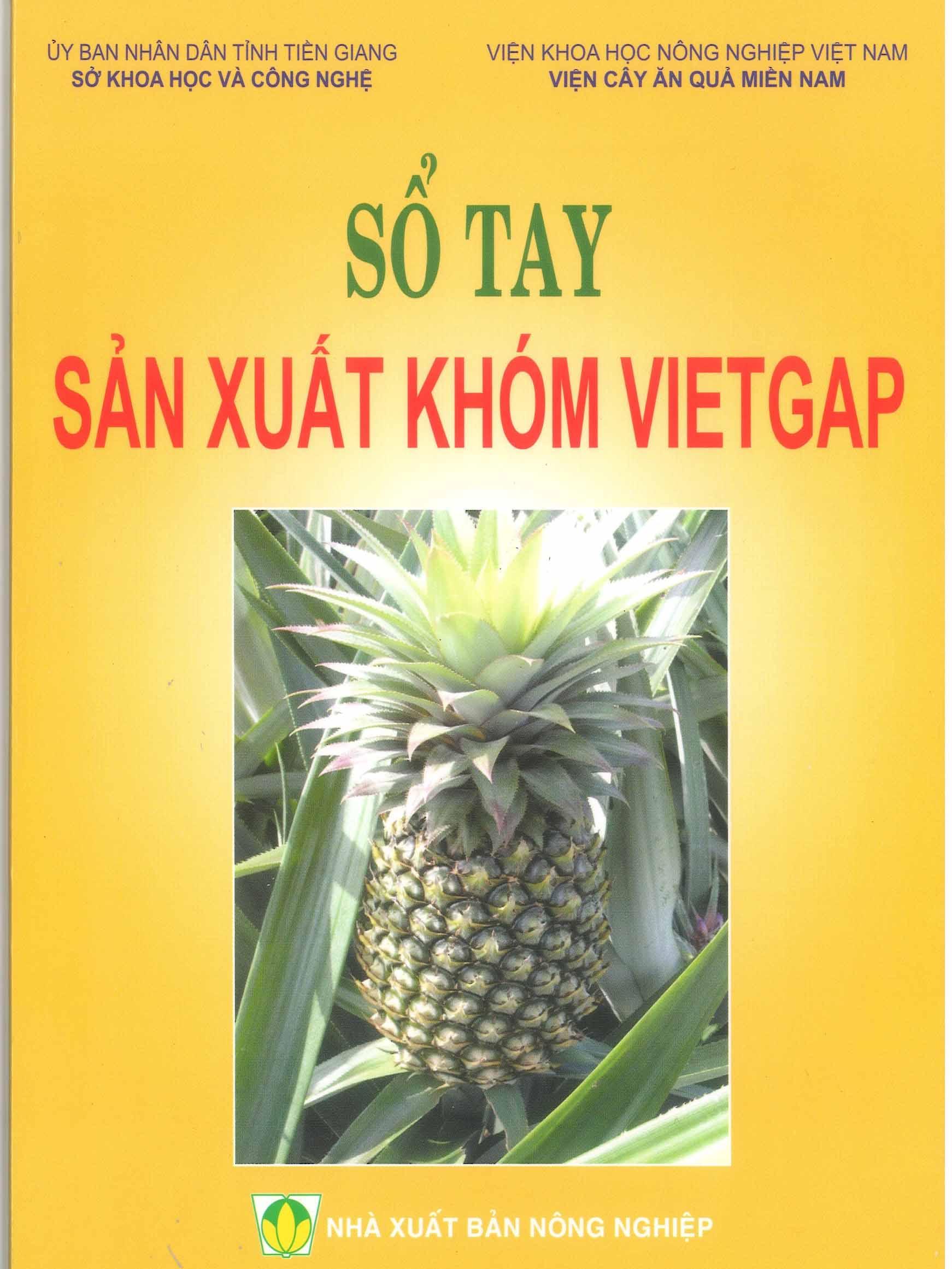 Sổ tay sản xuất khóm VietGAP