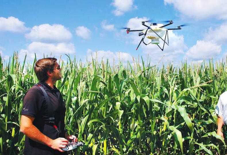 Máy bay không người lái có thể giúp nông dân Ai-len tối ưu hóa việc sử dụng đầu vào trong sản xuất nông nghiệp